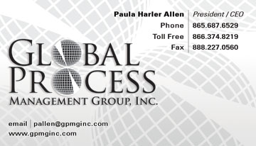 Business cards eyeshot design global process management group business card knoxville tn company colourmoves Images