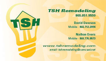 Tsh business card eyeshot design tennessee smart homes business card front home building knoxville reheart Images